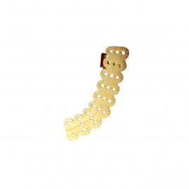 earcuff laiton doré à l'or fin