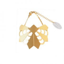 Bracelet Zulma laiton doré