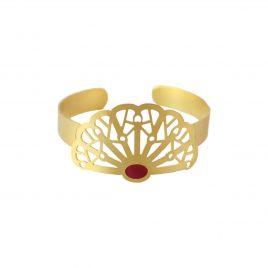 Bracelet jonc doré Vera