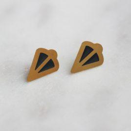 Puces d'oreilles LYNE gris