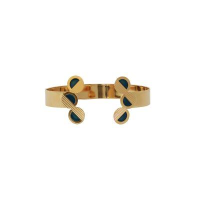 vous-mademoiselle-bracelet-jonc-double-mini-mona-bleupetrole -bijoux