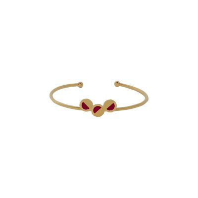 vous-mademoiselle-bracelet-jonc-mini-mona-rouge-violet -bijoux