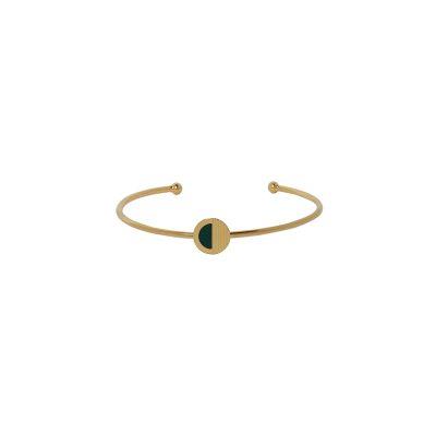vous-mademoiselle-bracelet-jonc-mona-vertbouteille -bijoux