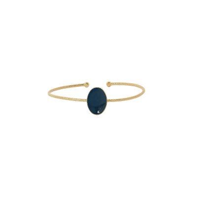 vous-mademoiselle-bracelet-jonc-mina-bleupetrole -bijoux